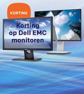 Korting op Dell EMC monitoren bij Centralpoint