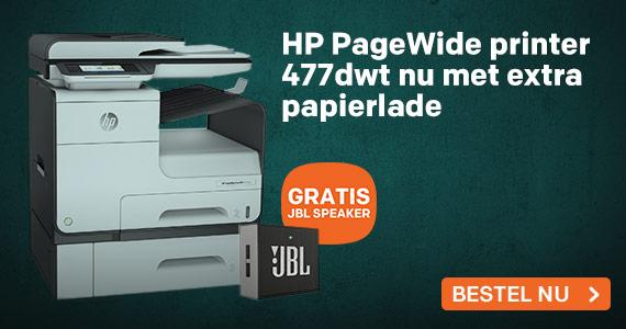 HP PageWide printer met extra papertray
