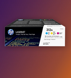 HP toner 3-pack