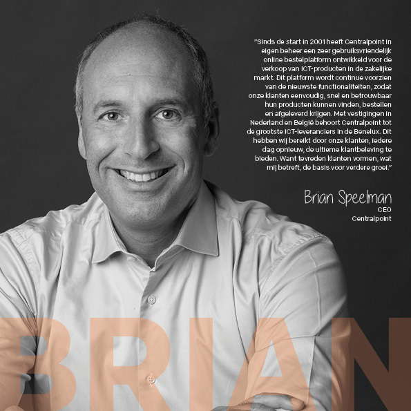 CEO Brian Speelman van Centralpoint
