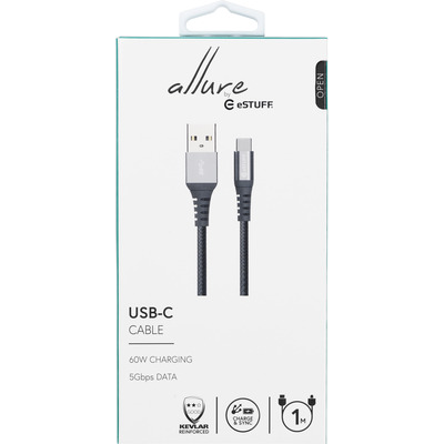 eSTUFF ES605151 USB-kabels