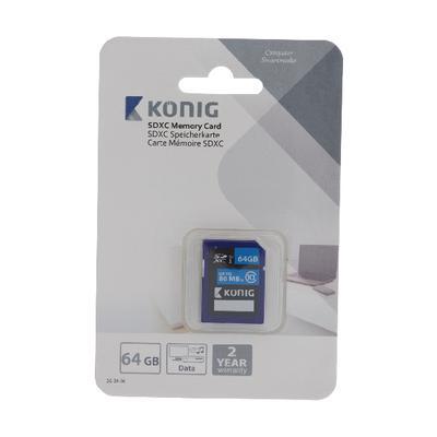 König CSSDXC64GB flashgeheugen