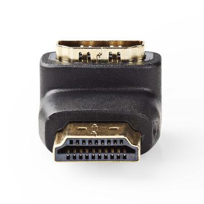 Nedis CVGP34901BK kabeladapters/verloopstukjes