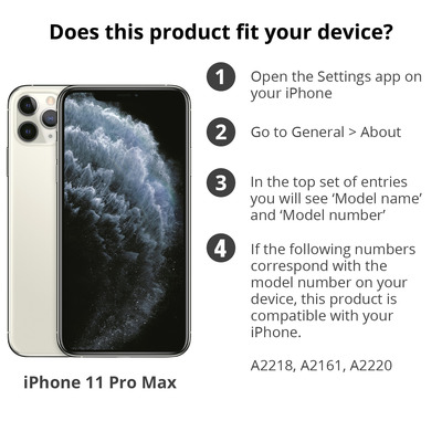 Accezz iP11ProMax60970801 mobiele telefoon behuizingen