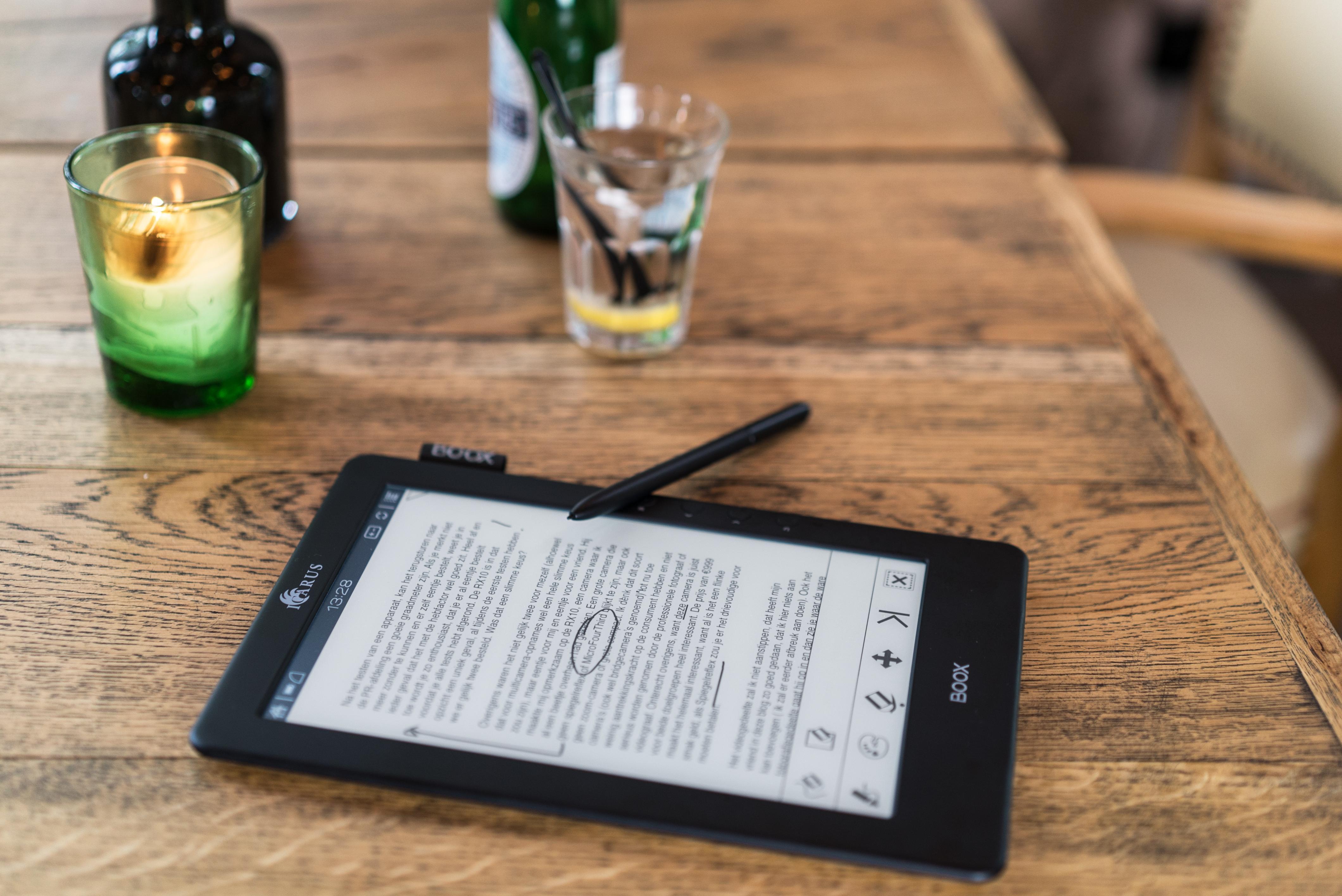 Icarus e-book reader Illumina Pro 9.7 e-reader met verlichting (Wi ...