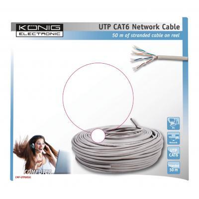 König CMP-UTP6R50 netwerkkabel