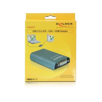 DeLOCK 61787 USB grafische adapters