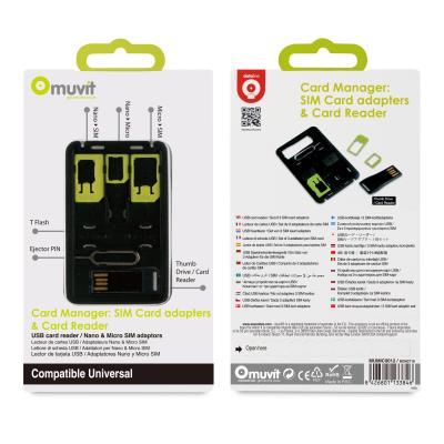 Muvit MUMIC0012 SIM/flash memory card adapter