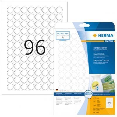 HERMA 4386 etiket