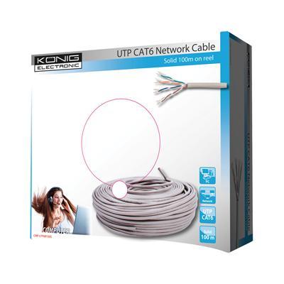 König CMP-UTP6R100S netwerkkabel
