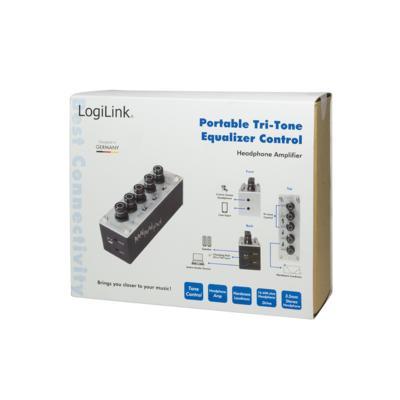LogiLink UA0273 Hoofdtelefoonversterkers