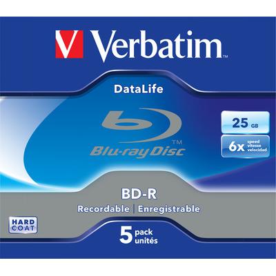 Verbatim 43836 R/W blue-raydisks (BD)