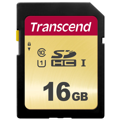 Transcend TS16GSDC500S flashgeheugens