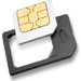 Azuri CAIRONSIMCARDADAPT SIM/flash memory card adapter