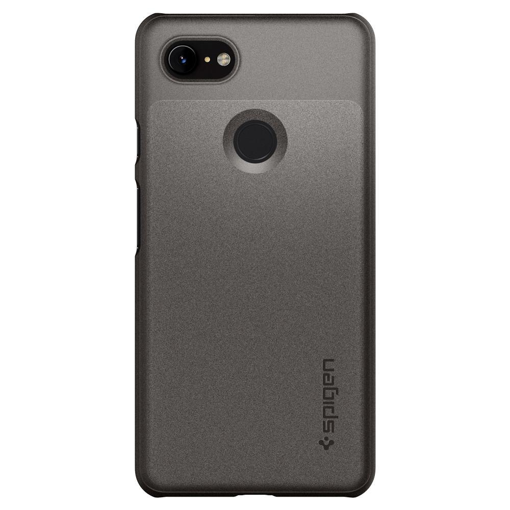 buy popular 6ecda b351a Spigen Google Pixel 3 Case Thin Fit mobile phone case - Grijs