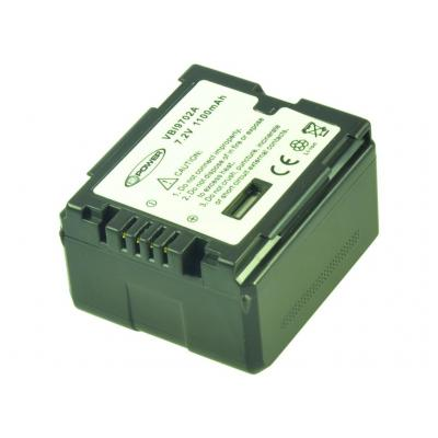 2-Power VBI9702A Batterijen voor camera's/camcorders