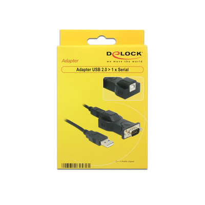 DeLOCK 62589 kabeladapters/verloopstukjes