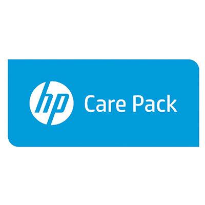 Hewlett Packard Enterprise U4AJ7E aanvullende garantie