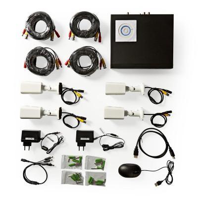 Nedis AHDS204CWT4 video toezicht kit
