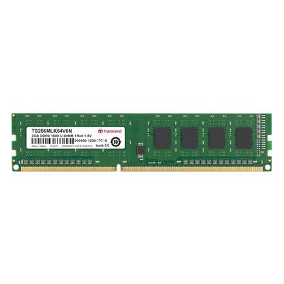 Transcend TS256MLK64V6N RAM-geheugen