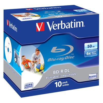 Verbatim 43736 R/W blue-raydisks (BD)