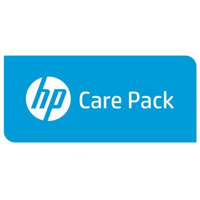 Hewlett Packard Enterprise U4ZP7E aanvullende garantie