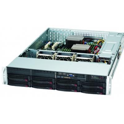 Supermicro CSE-825TQ-R720LPB computerbehuizingen