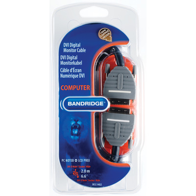 Bandridge BCL1402 DVI kabels