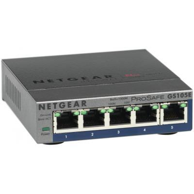 Netgear GS105E-200PES netwerk-switches