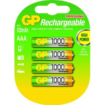 GP Batteries 120100AAAHCC4 batterij