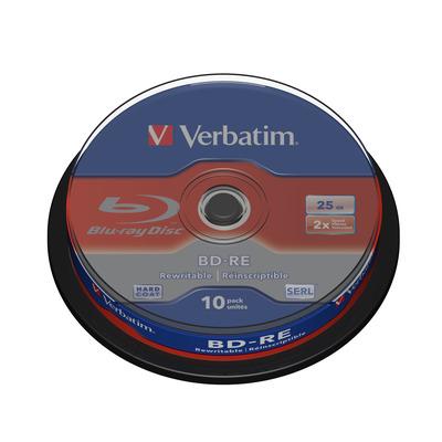 Verbatim 43694 R/W blue-raydisks (BD)