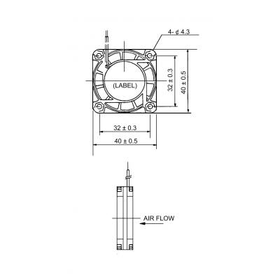SUNON EB40201S2-0000-9999 Hardware koeling