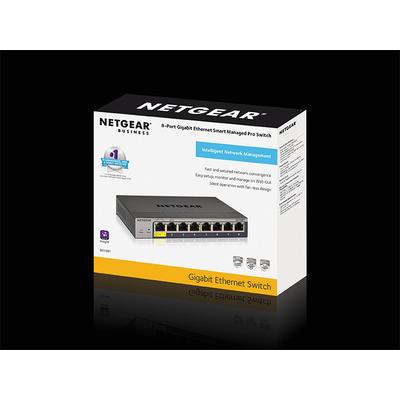 Netgear GS108T-300PES netwerk-switches