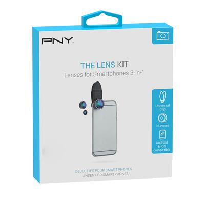 PNY LNS-3N1-02-RB Mobieletelefoonlenzen