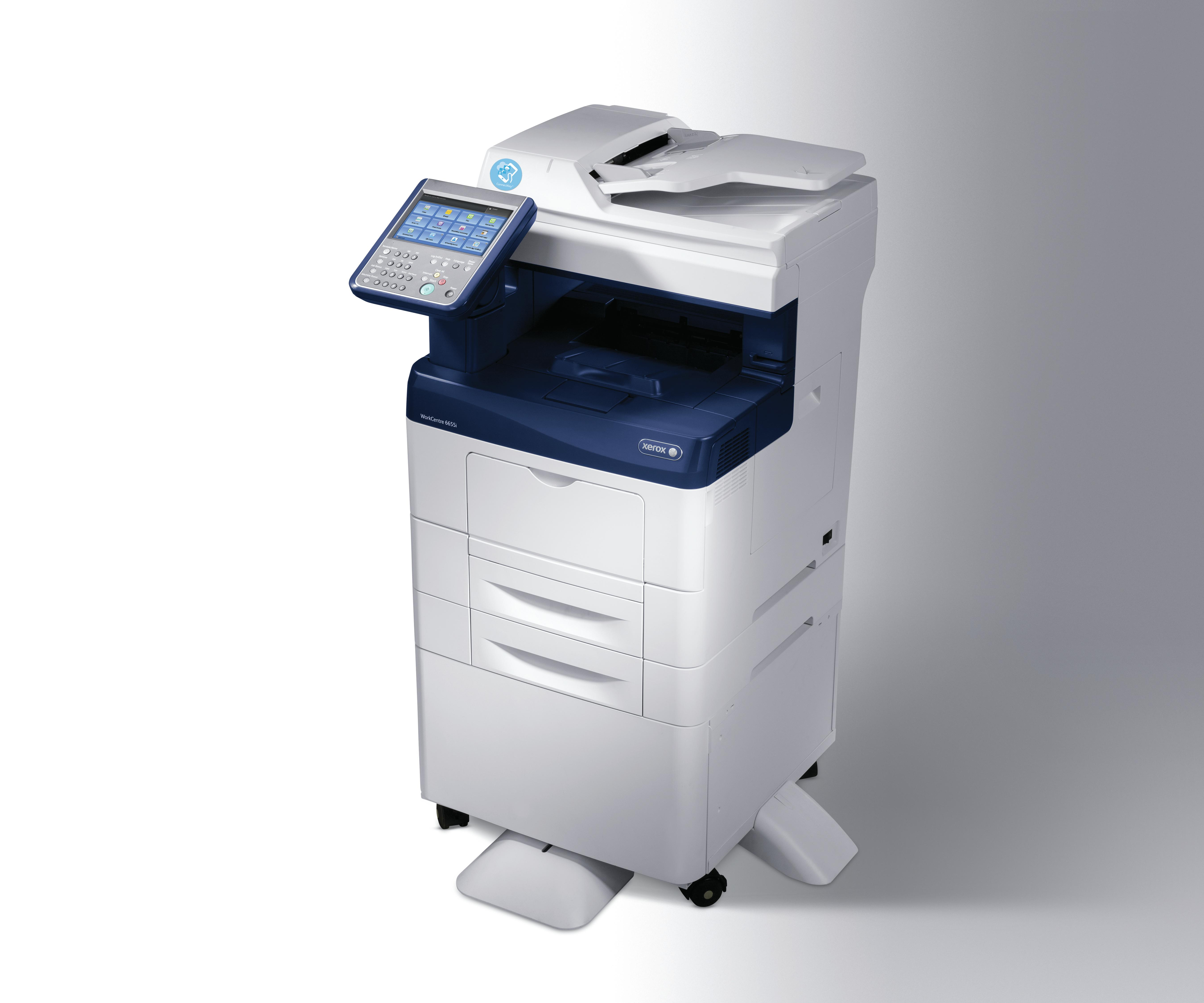 Xerox WorkCentre 6655i multifunctional - Blauw, Wit