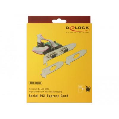 DeLOCK 89641 interfacekaarten/-adapters