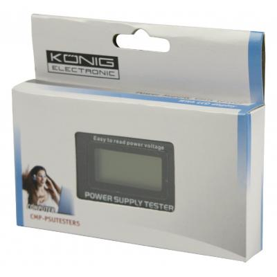 König CMP-PSUTESTER5 power supply tester