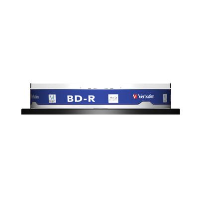 Verbatim 43825 R/W blue-raydisks (BD)