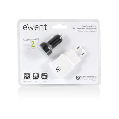 Ewent EW1206 opladers voor mobiele apparatuur
