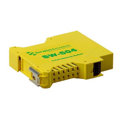 Brainboxes SW-504 netwerk-switches