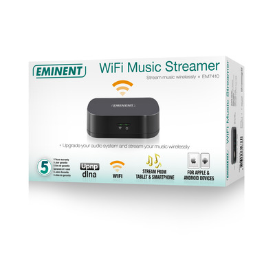 Eminent EM7410 digital audio streamers