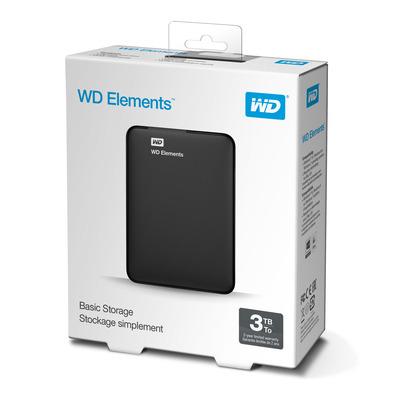 Western Digital WDBU6Y0030BBK-EESN externe harde schijven