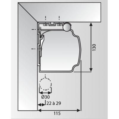 Projecta 10130749 projectiescherm