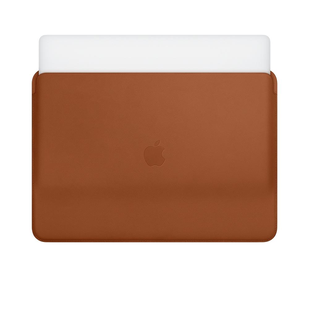 f89925d81cb Apple Leather Sleeve for 15-inch MacBook Pro – Saddle Brown (MRQV2ZM ...