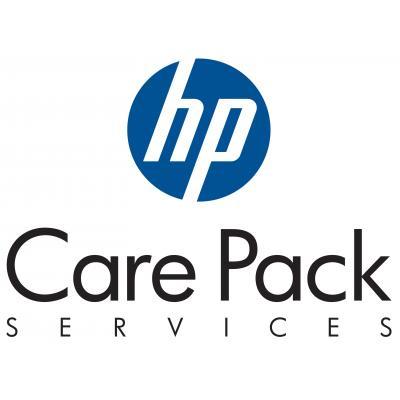 Hewlett Packard Enterprise U3DU0PE aanvullende garantie