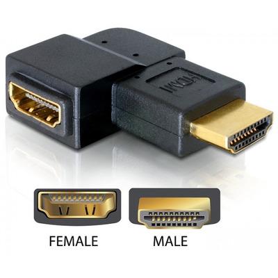 DeLOCK 65076 kabeladapters/verloopstukjes