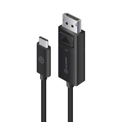 ALOGIC ELUCDP-02RBLK video kabel adapters