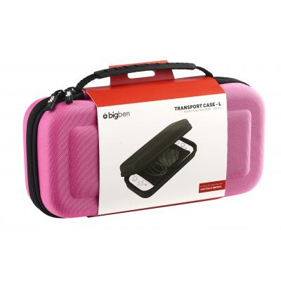 Bigben Interactive SWITCHPOUCHLPINK portable game console case