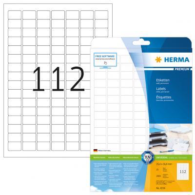 HERMA 4334 etiket