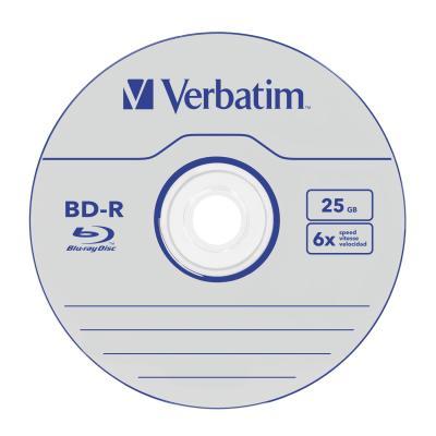 Verbatim 43837 R/W blue-raydisks (BD)